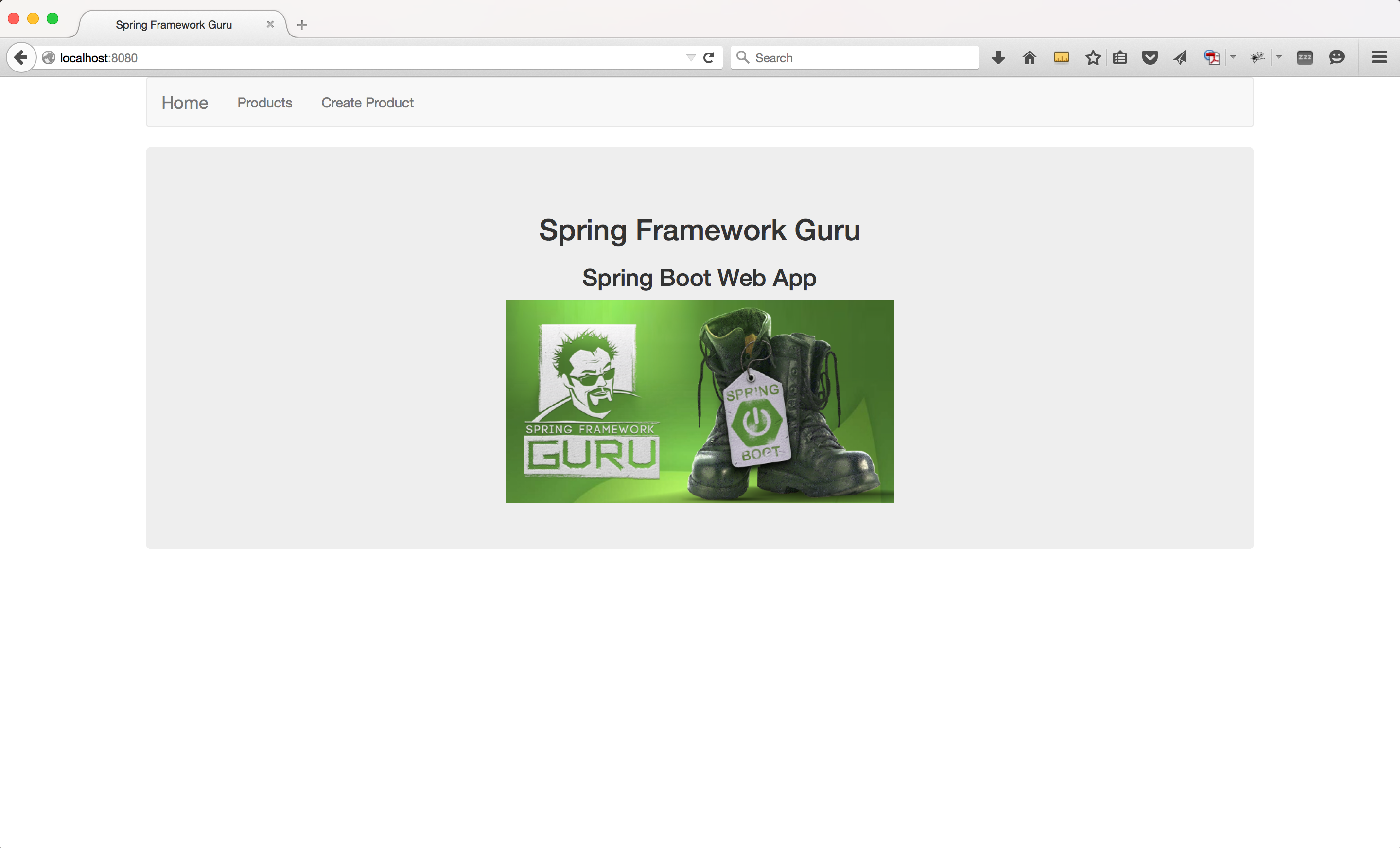 Spring Boot Web Application - Part 4 - Spring MVC - Spring