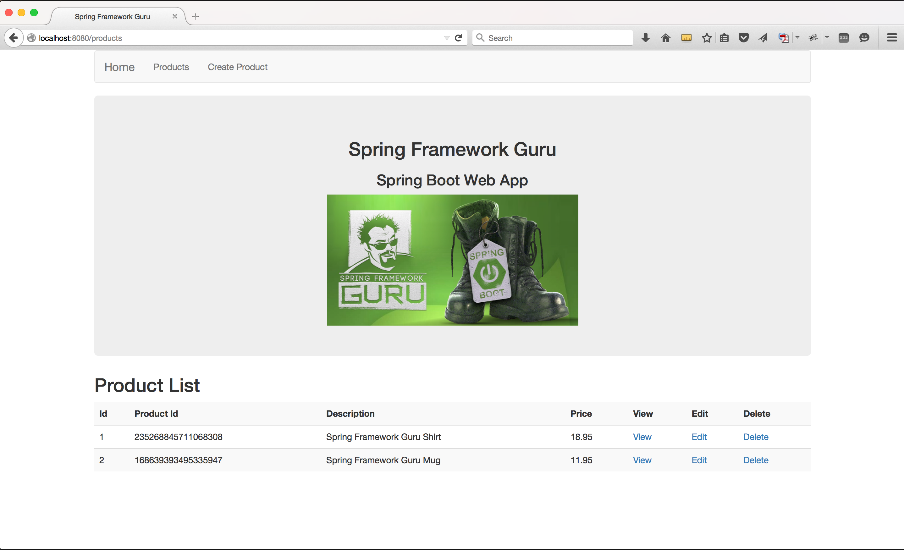 Spring Boot Web Application - Part 4 - Spring MVC - Spring Framework