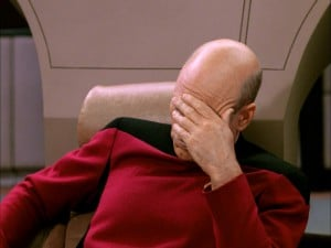 picard spring boot face palm