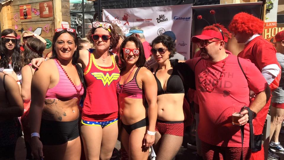 cupid's undie run st petersburg 2015