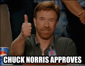Chuck Norris Approves Spring Boot