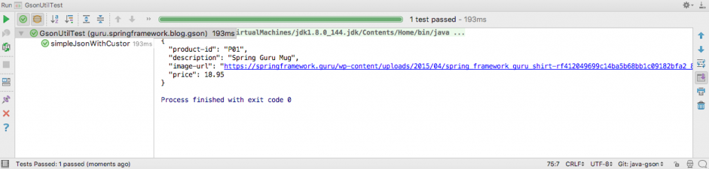Custom JSON Serialization with GSON