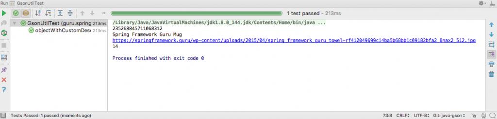 Google GSON for JSON Processing - Spring Framework Guru