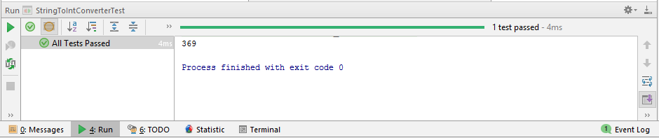 Java string to integer output