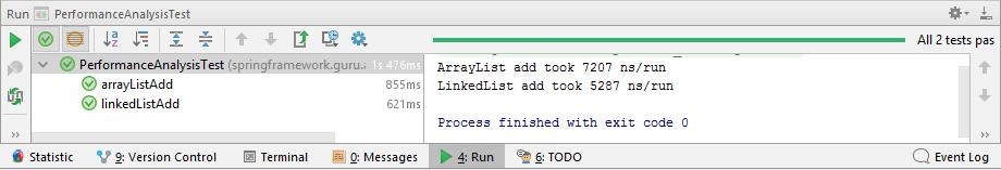 test output add operation