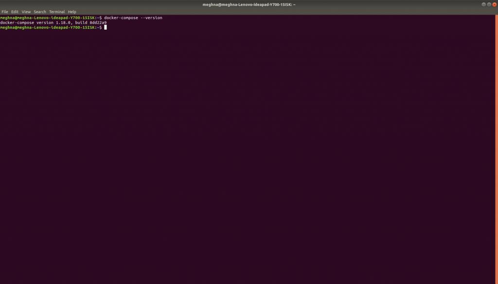Docker-Compose version