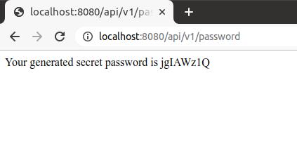 Output of REST API