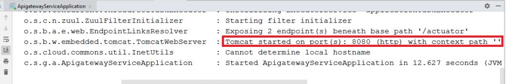 API Gateway Output
