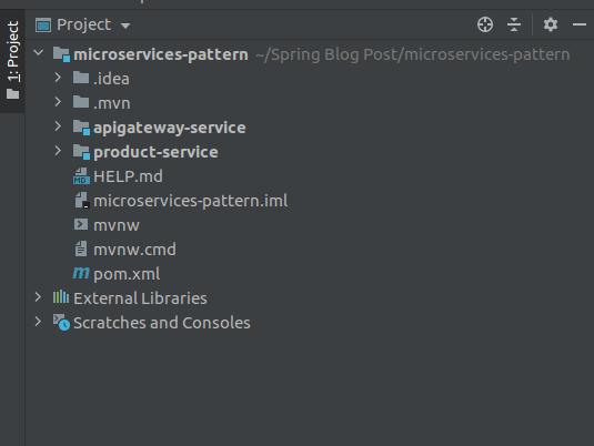Multi-modular Application